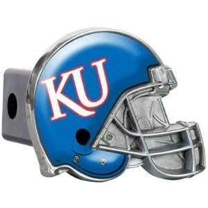 Kansas Metal Helmet Trailer Hitch Cover