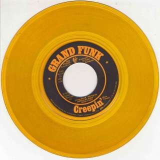 GRAND FUNK Were An American Band 45 3660 Yellow Vinyl