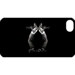Miles Davis iPhone 4 iPhone4 Black Designer Hard Case Cover Protector