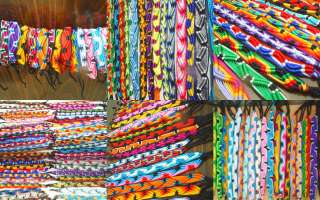 100  MIXED friendship BRACELETS WRISTBANDS WHOLESALE LOT HANDMADE