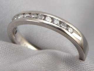 GOLD 0.25ctw 1/4ctw DIAMOND Wedding ANNIVERSARY RING Band 2.7g