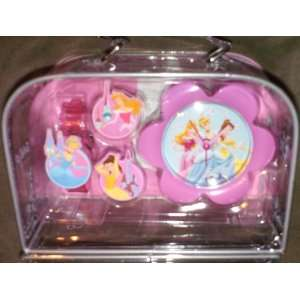 Disney Princess Watch and Alarm Clock Gift Set Office