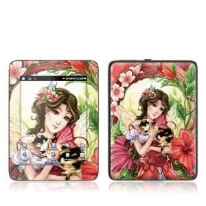 com Hibiscus Fairy Design Protective Decal Skin Sticker for Velocity