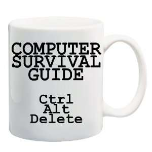 GUIDE Control Alt Delete Mug Coffee Cup 11 oz