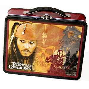 Pirates of the Caribbean Metal Tin Lunchbox Office