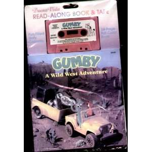 Gumby   A Wild West Adventure   Book & Cassette (Read Along