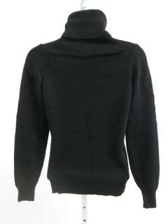You are bidding on a JOS.A. BANK Black Cashmere Turtleneck Sweater Top