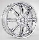 24 INCH RIMS AND TIRES WHEEL PACKAGE FULLFACE STARR 717