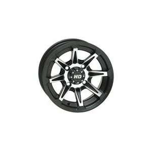 Wheel 14x7 6.0 + 1.0 Matte Black POLARIS RANGER RZR 570 RANGER RZR 800