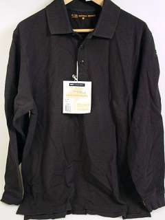 511 MENS BLACK TACTICAL LONG SLEEVE SHIRT Small (42056)