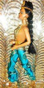 Princess Jasmine barbie doll ooak ~ disney princess beauty