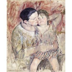FRAMED oil paintings   Mary Stevenson Cassatt   24 x 30