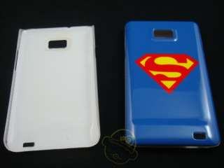 Superman and moster Design Hard Case cover For Samsung I9100 Galaxy S2