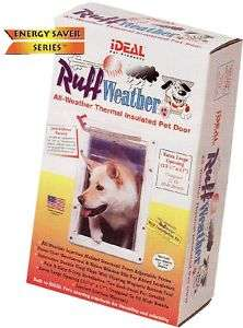 RUFF WEATHER Insulated Pet Dog DOOR All Sizes