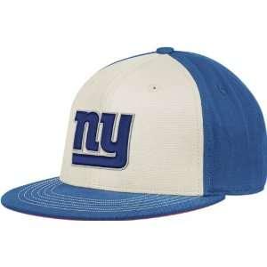 York Giants Reebok Retro Sport Throwback Flat Bill Flex Hat Sports