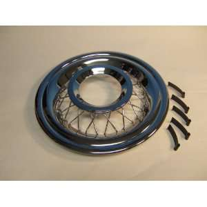 Chevy Wire Wheel Cover, Accessory, 1956 Automotive