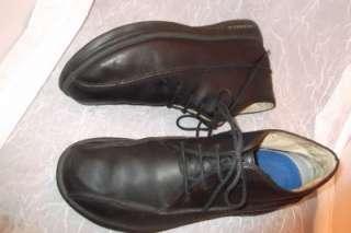 Mens MERRELL Black Leather Boots Topo Rail CHUKKA Black Oxfords Size