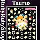 taurus) GLOW IN THE DARK WALL DECOR KIDS ROOM STICKER