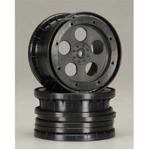 1111 5 Hole Beadlock Wheels Zero Offset Black 14mm Toys & Games