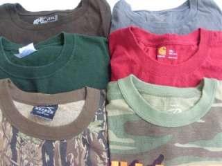 Big Tall Mens Hunting & Camo Camouflage Tee T Shirts 2XL XXL Carhartt