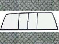 88 00 Chevy GMC Truck Sliding Rear Window Glass Slider