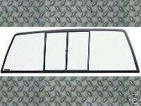 88 00 Chevy GMC Truck Sliding Rear Window Glass Slider |