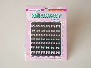 3D Design Nail Art Stickers, Variety show, 2+2 (Korea)