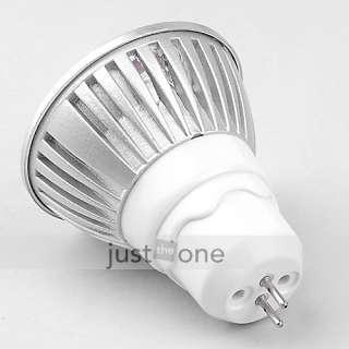 3x1W MR16 GU5.3 3W 220V LED Lamp Warm White Light Bulb