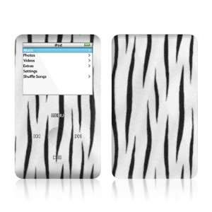 White Tiger Stripes Design Skin Decal Sticker for Apple