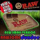 RAW 1970s Style Large Metal Rolling Tray plus RAWSOME freebies