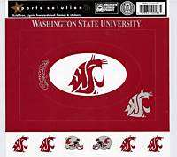 Washington State University Scrapbook Sticker FRAMES