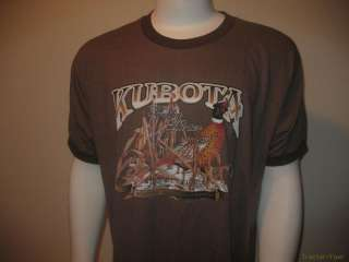 NEW KUBOTA Tractor Hunting ATV Equipment Shirt Mens XL