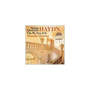 String Quartet Op 76 4 6 Haydn, Panocha Quartet Music