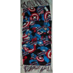 Marvel Comics CAPTAIN AMERICA Action Logo Microfiber Soft