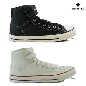 Brand New Boys / Mens Converse All Star CT 2 Strap Hi Leather Trainer