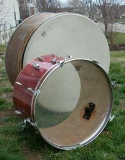 Worlds Largest Round badge Gretsch bass drum shell ? Wow