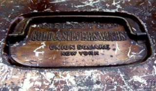 GOLD & SILVERSMITHS UNION SQUARE NY RARE CLEANING BOX ca 1870