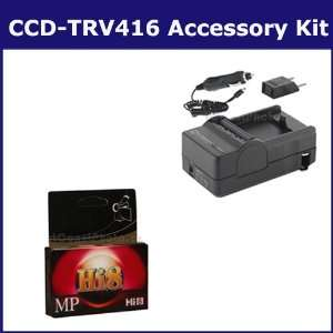 Kit includes HI8TAPE Tape/ Media, SDM 105 Charger