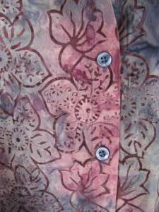 CJ Banks Batik Print 3/4 Sleeve Blouse   Colors