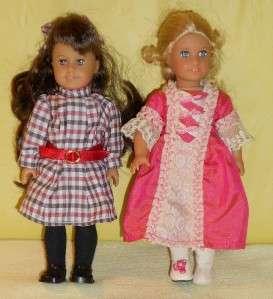 American Girl Samantha & Emily dolls BIG lot w/clothes, books, bike
