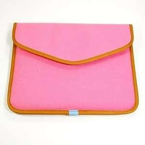 Pink Design Canvas Netbook Notebook Laptop/tablet Pc Bag Sleeve Case