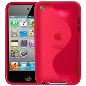 New High Quality Amzer Tpu Hybrid Case Hot Pink For Ipod Touch 4Th Gen