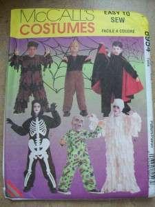 Halloween Costume Sewing Pattern Vampire Mummy Monster