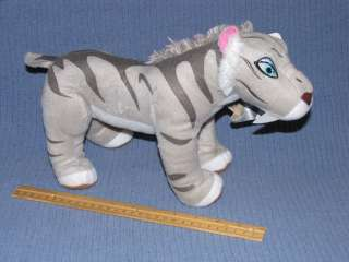 ICE AGE 4 CONTINENTAL DRIFT ~ 12 SHIRA the TIGER PLUSH ~ Licensed