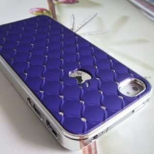 Luxury Bling Crystals Rhinestones Hard Case Cover for Apple iPhone 4