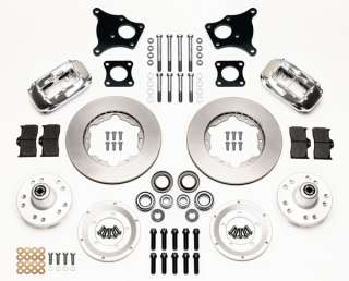 WILWOOD DISC BRAKE KIT,FRONT,70 76 AMC HORNET,71 76 GREMLIN,11