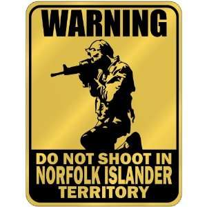 New  Warning  Do Not Shoot In Norfolk Islander Territory