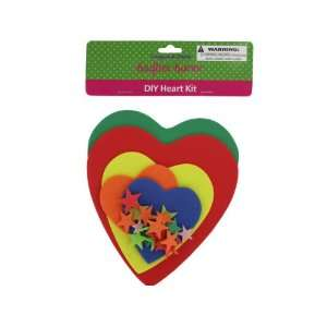 Bulk Pack of 24   Do it yourself foam heart craft kit (Each) By Bulk