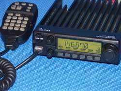 Icom IC 228A 2 Meter VHF Mobile Transceiver Looks Great