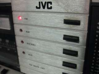 JVC JR S201 AM/FM Stereo Receiver Works Great